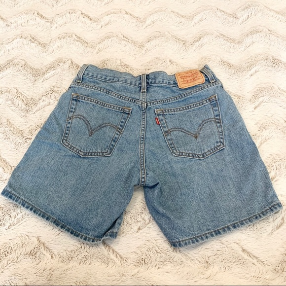 Levi's Vintage 550 High Waisted Jean Shorts